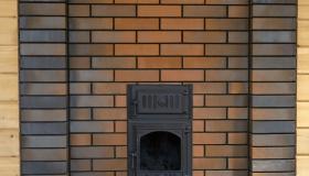 Банная печь для дачи. Новосибирск.