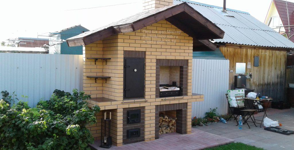 проект барбекю под крышей